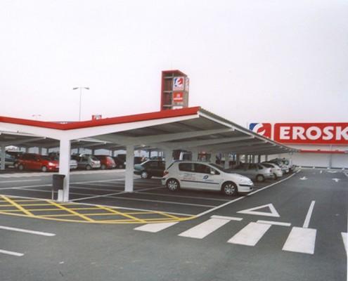 EUROPA PREFABRI- Marquesina para parking Tipo Y