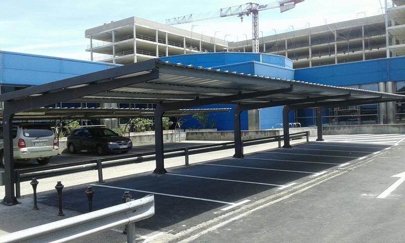 Marquesinas aparcamiento Madrid