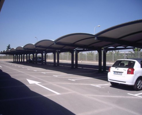 ET Europa - Marquesinas de Parking