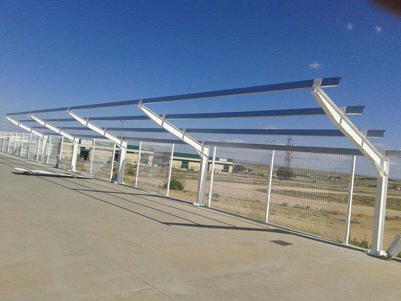 Marquesinas solares de parking en Toledo 01