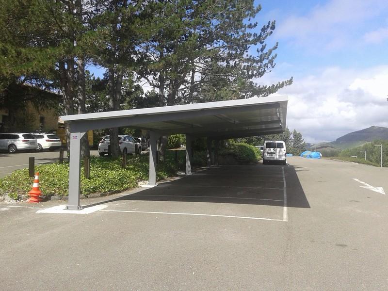 marquesinas de parking para el hotel pamplona el toro 01