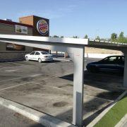 marquesinas de parking para un burger king en madrid 03