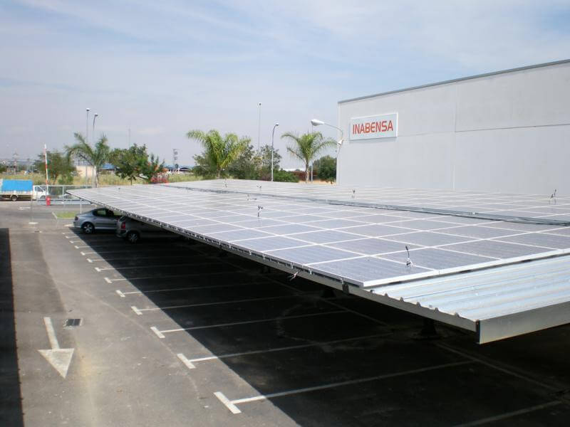 marquesinas de parking solar fotovoltaico